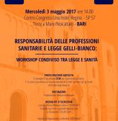 Responsabilità delle professioni sanitarie e legge Gelli-Bianco