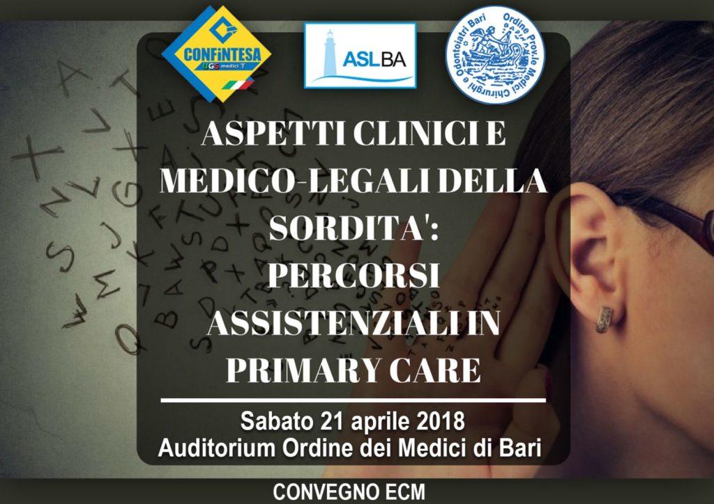 Aspetti Clinici e medico-legali della sordità