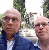 OMAGGIO ALL'UNICO MONUMENTO IN TUTTA ITALIA ai MEDICI E SANITARI CADUTI IN GUERRA